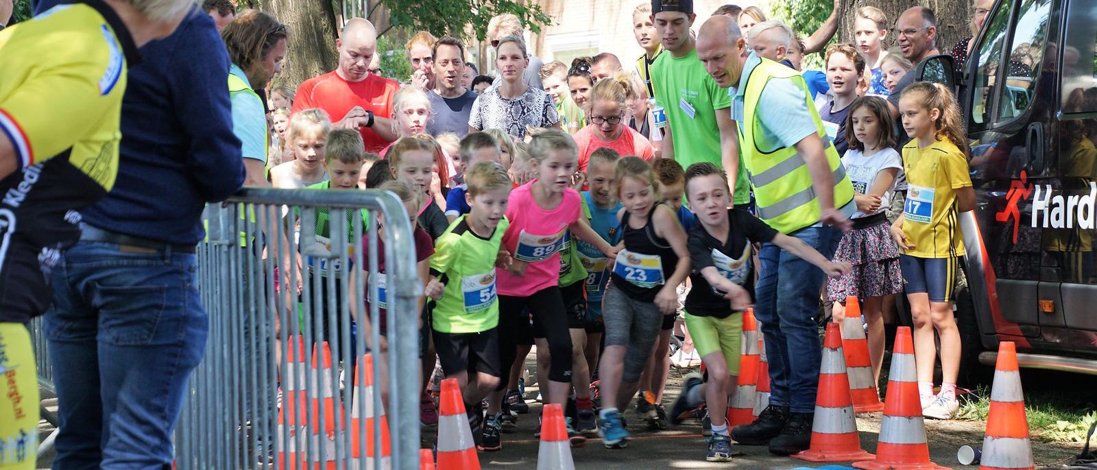 Keppelrun 1km start jeugdloop